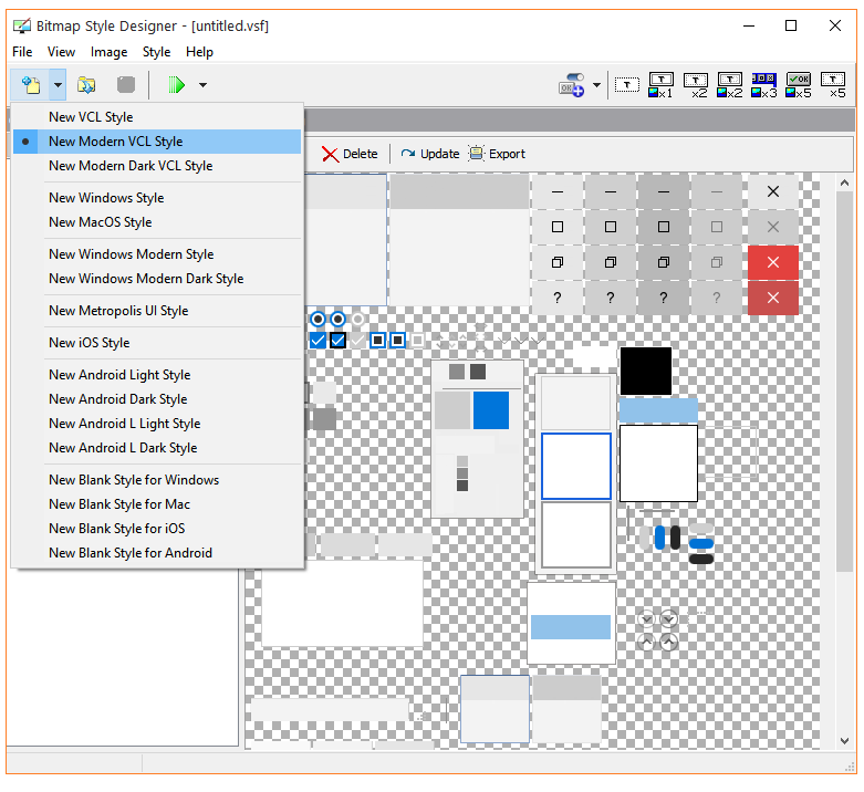 New VCL Styles and Style Enhancements in RAD Studio 10