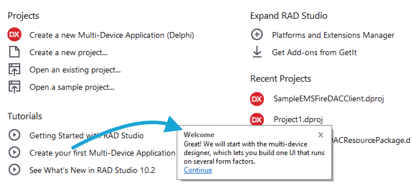 Get Started with RAD Studio 10 2 1 using Sample Projects - Blog
