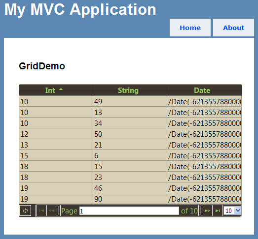 Using jqGrid with ASP NET MVC: Finally, A Solution - Blog