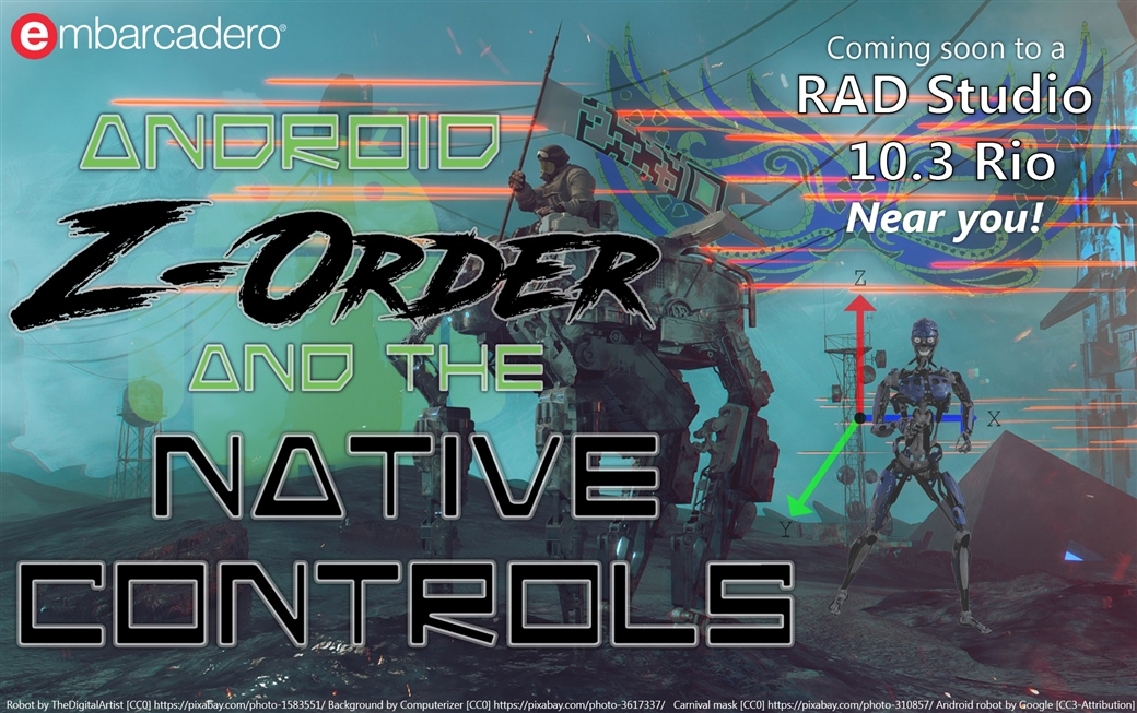 Android Z-Order and the Native Controls