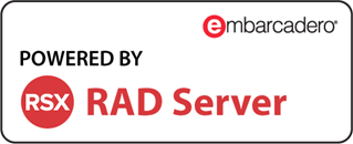 Powered by RAD Server